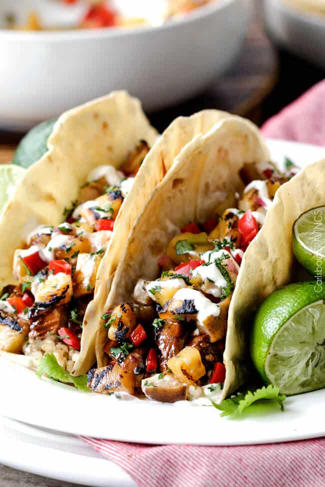 chicken with pineapple bacon salsa yield serves 4 grilled bbq grilled ...