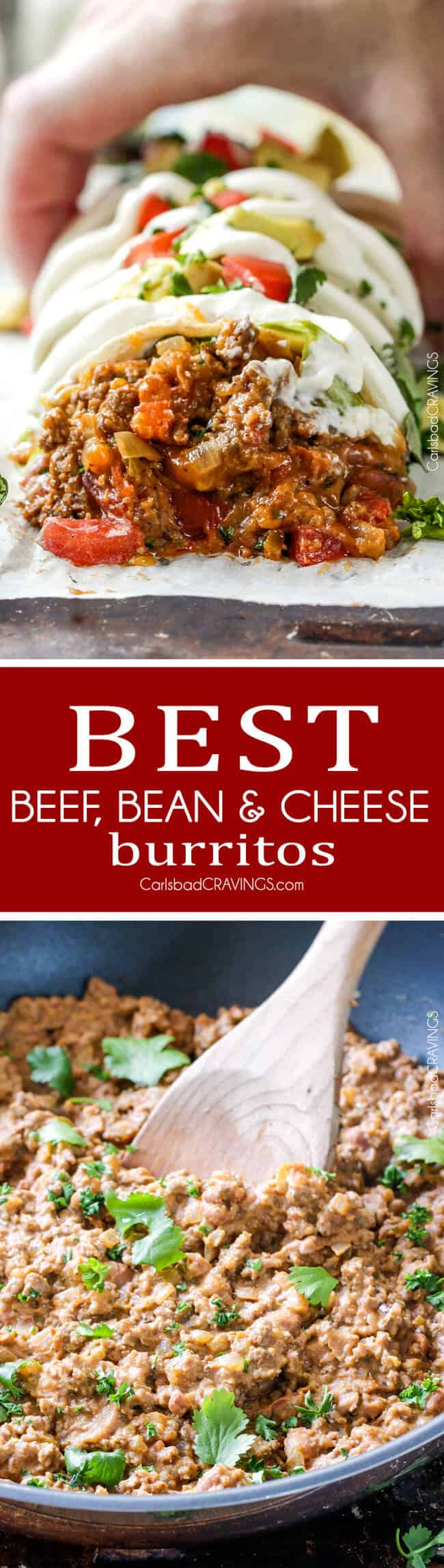 Best-Beef-Bean-and-Cheese-Burritos-collage