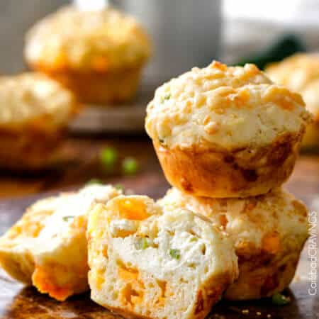 Jalapeno Popper Cheese Muffins