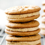 Soft and Chewy Peanut Butter Sandwich Cookies