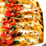 Sweet Chili Chicken Enchiladas