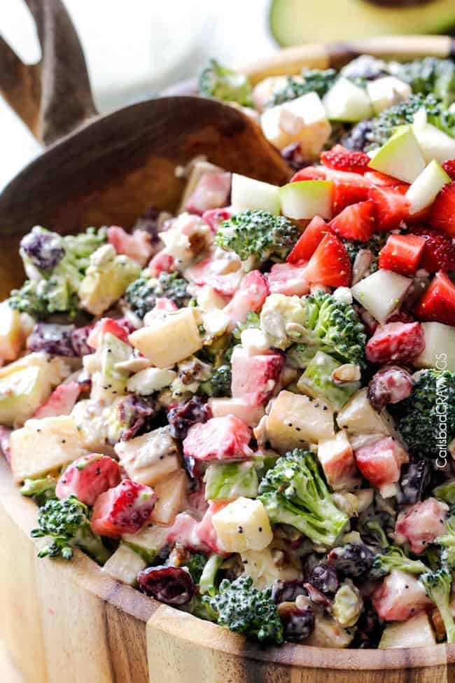 Strawberry Broccoli Salad Will Be One Of The Best Salads That You Make The Perfect