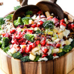 Broccoli Salad with Strawberries and Avocados (Video!)