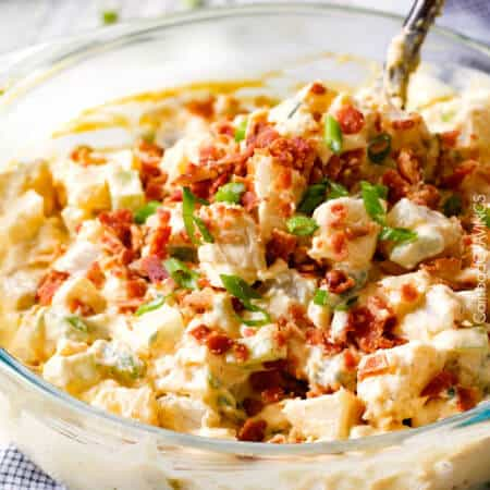 Kicked Up Classic Creamy Potato Salad