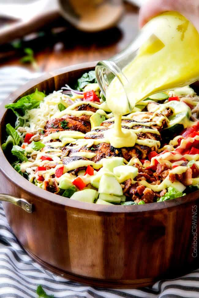 Chipotle chicken salad with honey lime mango dressing chipotle chicken salad with honey mango dressing i actually crave this salad its so good forumfinder Images