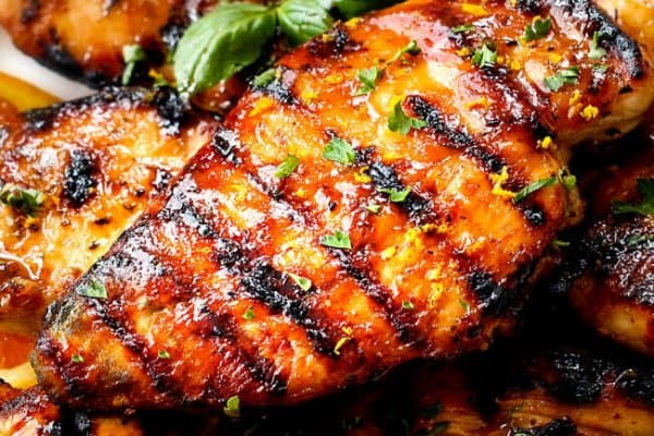 Chipotle Maple Chicken (Grill or Stove Top)