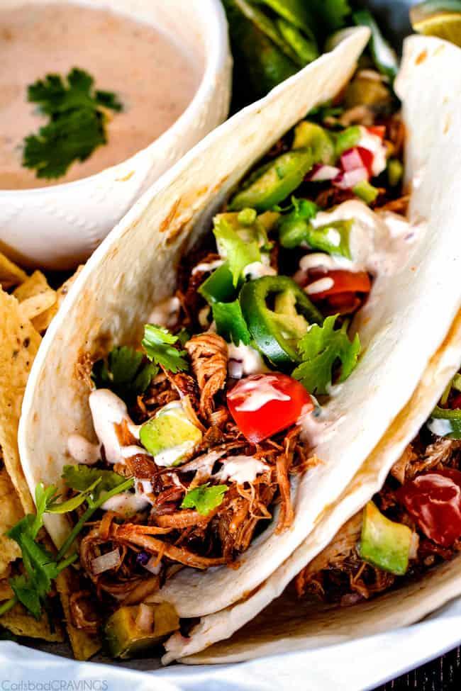 BEST Pork Carnitas (Slow Cooker Mexican Pulled Pork) + VIDEO