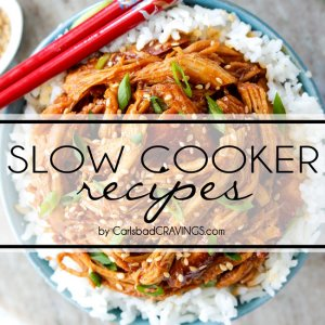 Slow Cooker Beef Brisket with Barbecue Sauce (Video!)