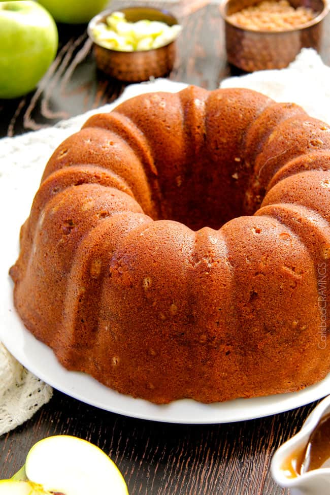 Butter Pound Cake Apple Sauce