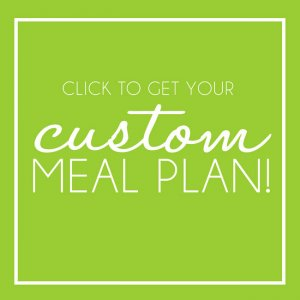 Custom Meal Plan