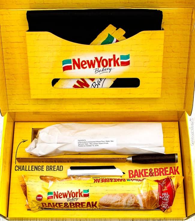 New York Bakery® Bake Garlic Bread.