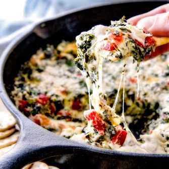 Spinach Dip with Brie