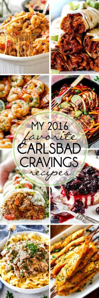 2016 Favorite Carlsbad Cravings Recipes