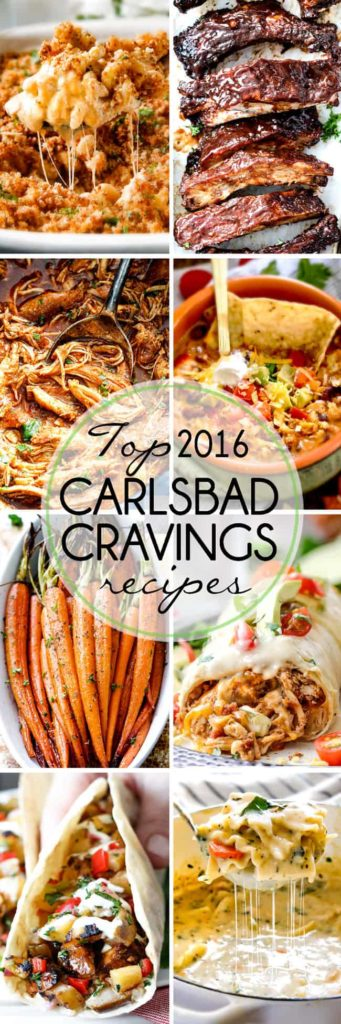 Top MOST POPULAR 16 Recipes of 2016! These need to go on your MUST MAKE LIST!!