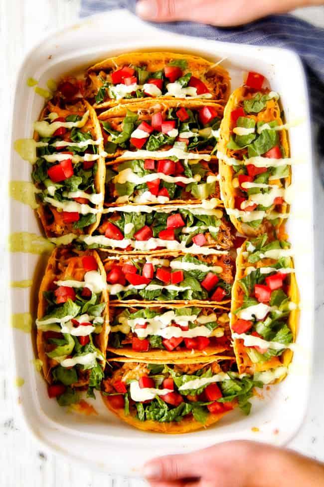 Easy Baked Fiesta Ranch Chicken Tacos With Tomatillo Avocado Ranch Order food online at chicken fiesta, richmond with tripadvisor: baked fiesta ranch chicken tacos