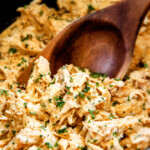 Slow Cooker Fiesta Ranch Cream Cheese Chicken