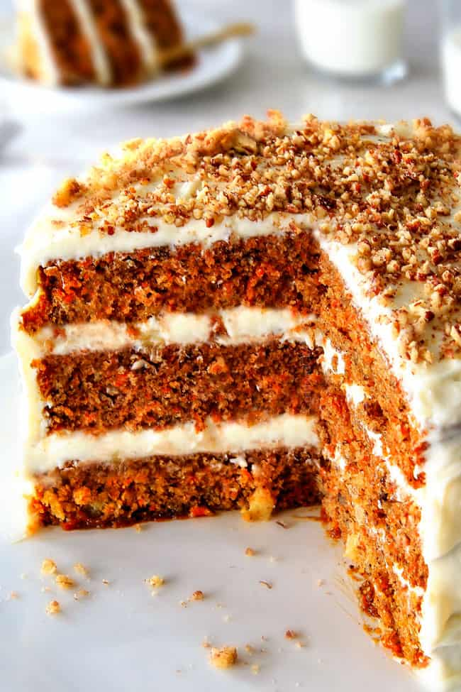 Layered Carrot Cake With Pineapple