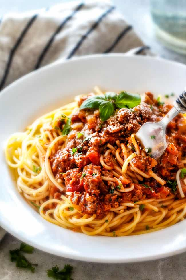 Spaghetti Bolognese (30 Minute Weeknight)