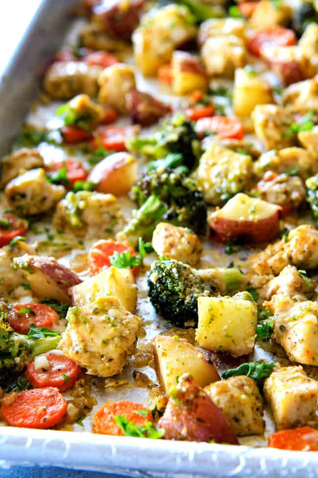 One Pan Chicken And Potatoes And Broccoli-3658
