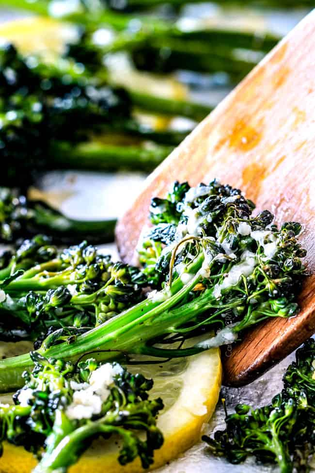 ONE PAN Roasted Parmesan Lemon Garlic Broccoli (or ...