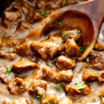 Slow Cooker Beef Tips and Gravy (No Cream Soup!)