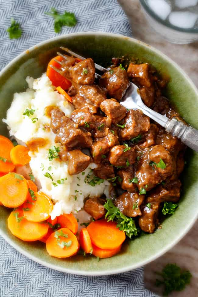 BEST Crockpot Beef Tips & Gravy (No Cream Soup ...