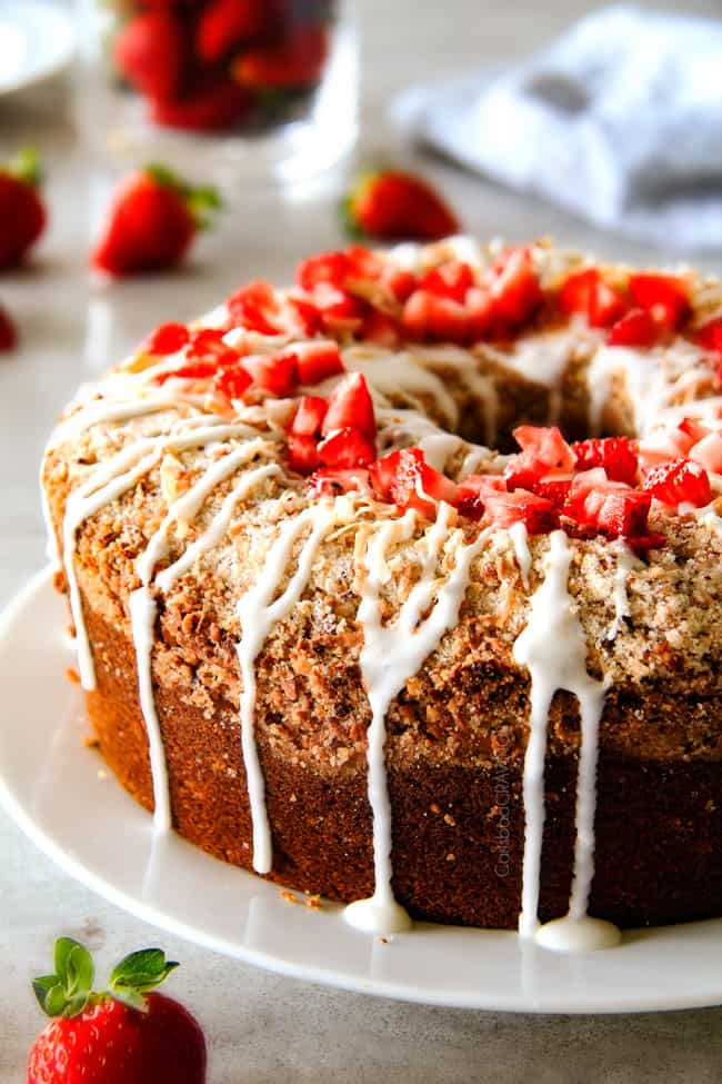 Sour Cream Coffee Cake - this is the best strawberry coffee cake ...