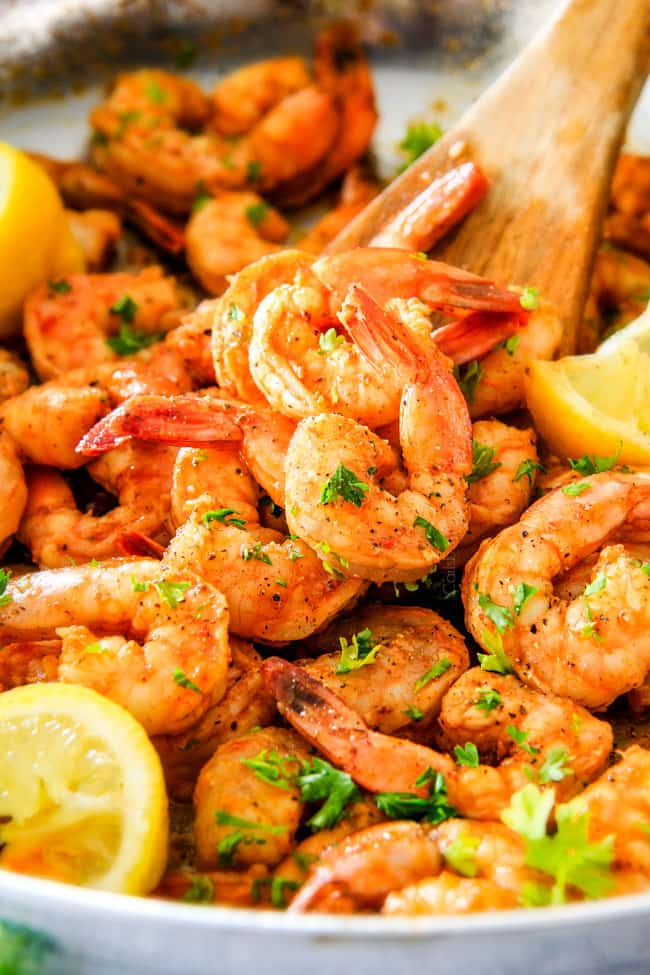 quick and easy Old Bay Shrimp (Grill or Stove top) is so juicy and flavorful and the homemade Cocktail Sauce is amazing! Serve it as an appetizer or add some sides and call it dinner!