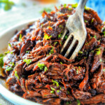 Slow Cooker Honey Balsamic Beef (Video!)