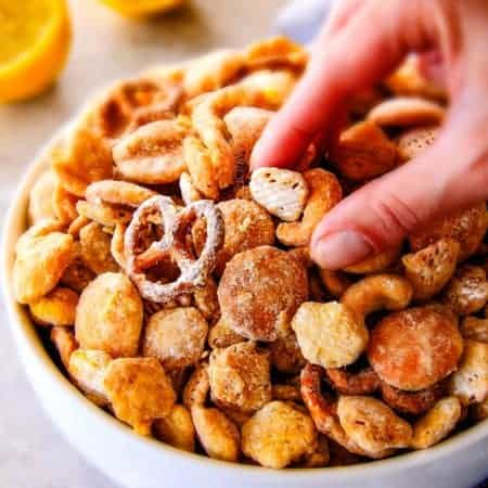 Lemon Snack Mix