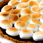 Nutella S'mores Pie (Almost No Bake)