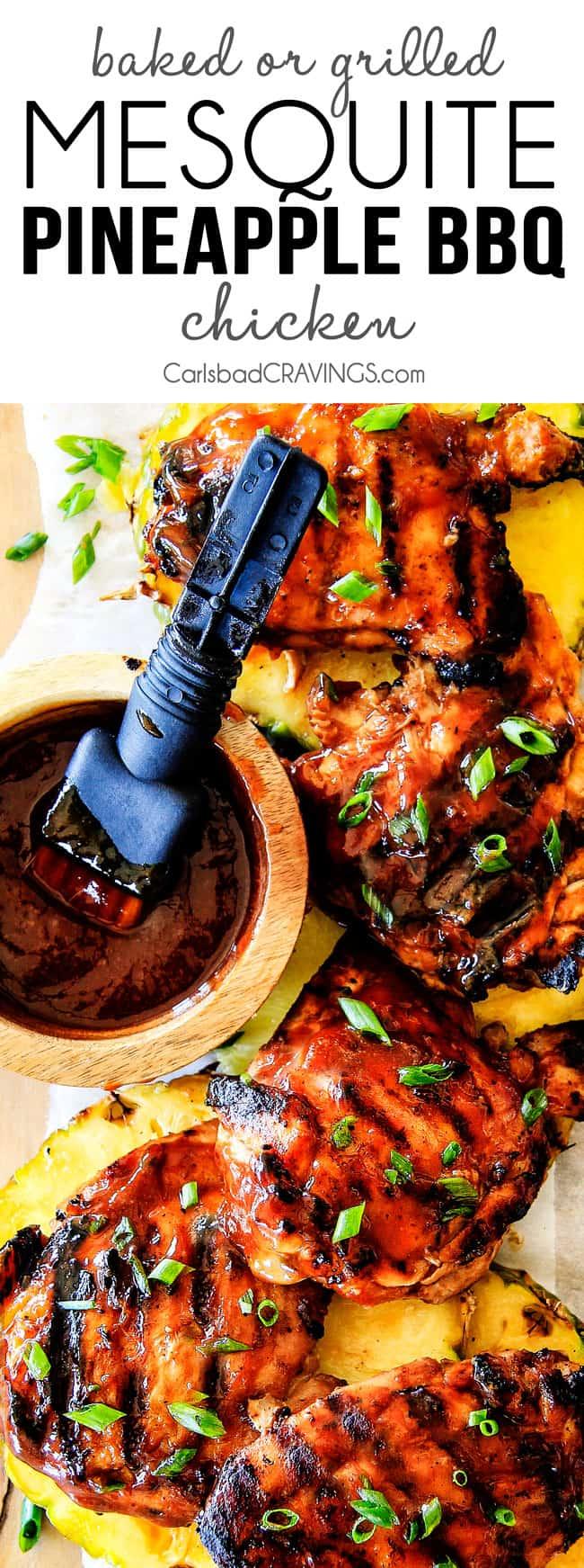 Mesquite Pineapple BBQ Chicken