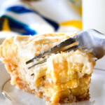 Banana Coconut Cream Pie with Vanilla Wafer Coconut Crust