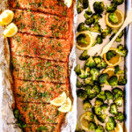 Baked Salmon with Lemon Garlic Butter