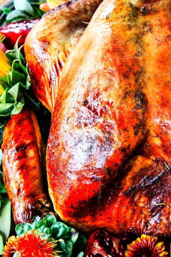 This is the juiciest, most tender, flavorful Roast Turkey I have ever made! EVERYONE wanted the recipe! I will never use another turkey recipe again, this one is a winner!