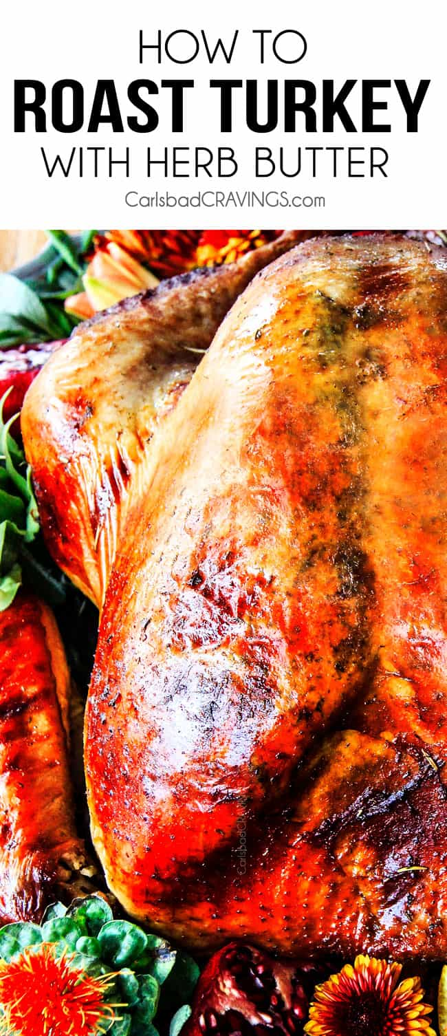 How To Roast Turkey With Herb Butter