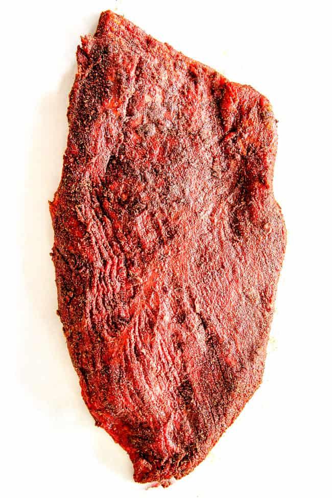 spice rubbed beef brisket