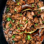 Chipotle Beef Barbacoa (Slow Cooker)