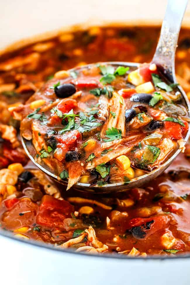 How to freeze Chicken tortilla soup by letting to cool to before freezing