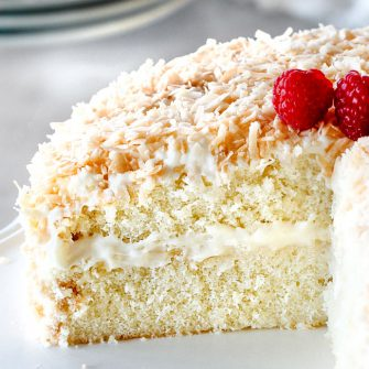 Coconut Cake (Triple Coconut!)