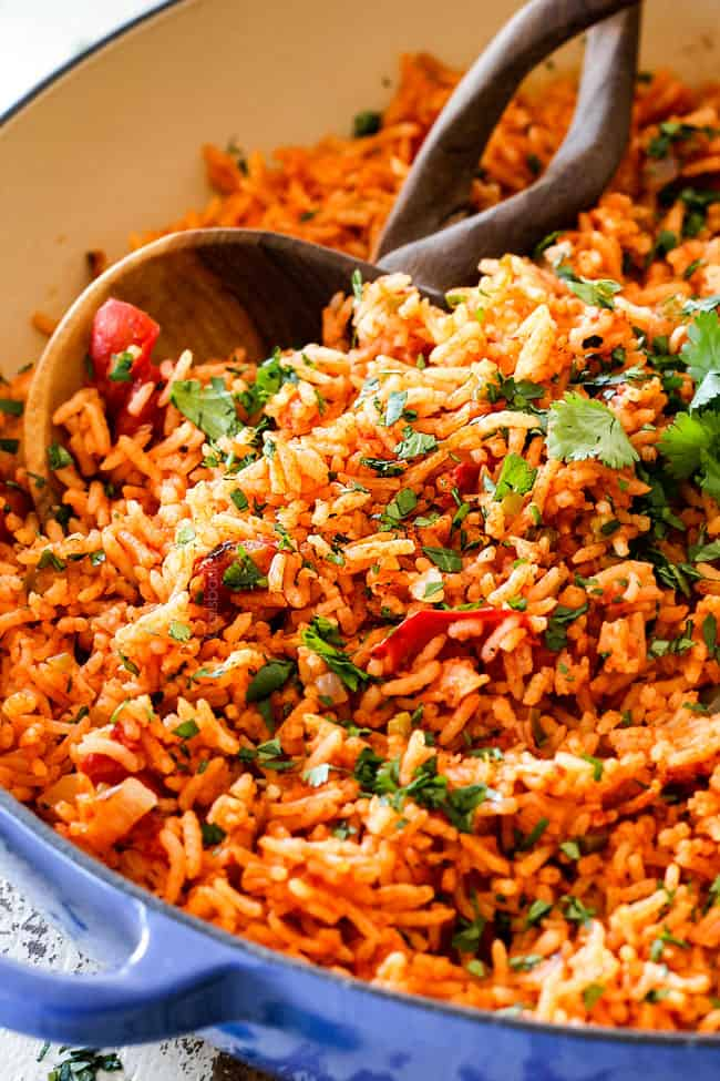 BEST EVER Restaurant-Style Mexican Rice (tips And Tricks