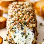 Garlic Herb Cheese Log