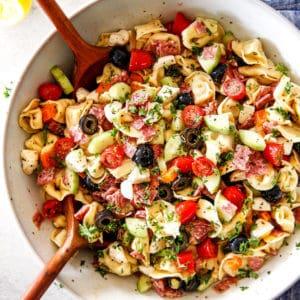 Italian Pasta Salad with Tortellini