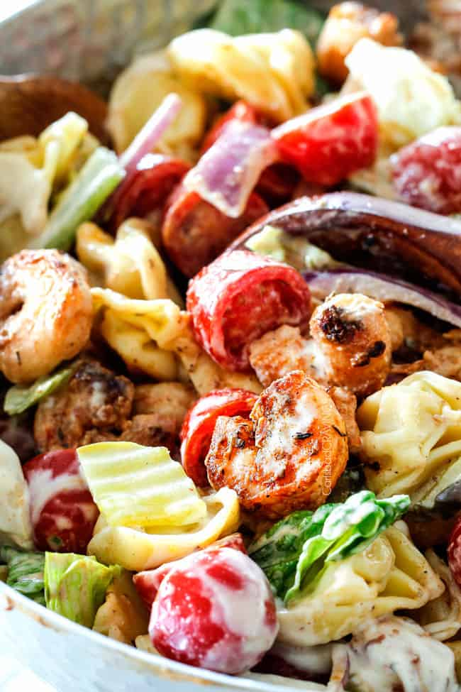 Po Boy Shrimp Pasta Salad Carlsbad Cravings