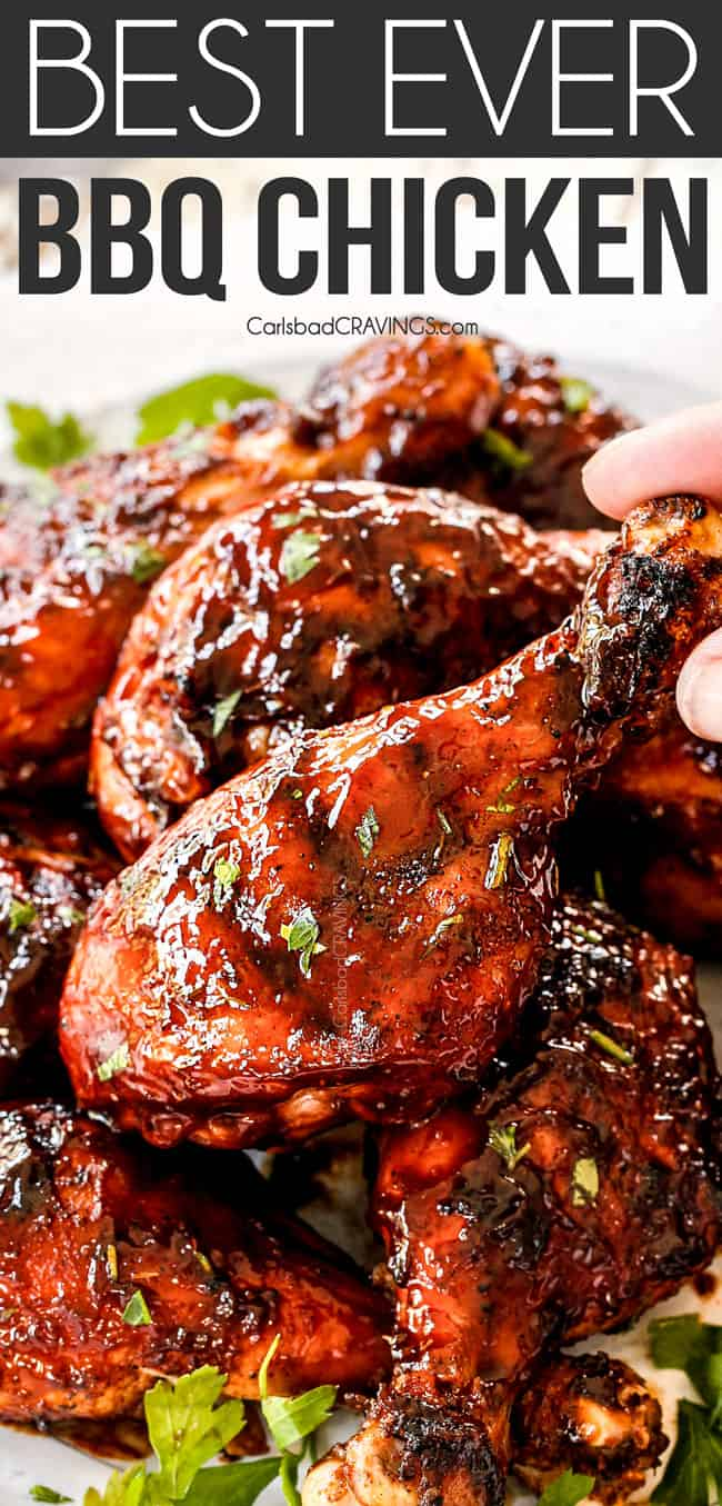 Grilled Bbq Chicken With Homemade Bbq Sauce Video