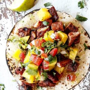 Tacos Al Pastor (Video!)