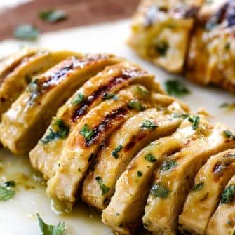 Salsa Verde Chicken (3 Ingredients!)