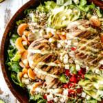 Salsa Verde Pepper Jack Chicken Salad with Mango Dressing