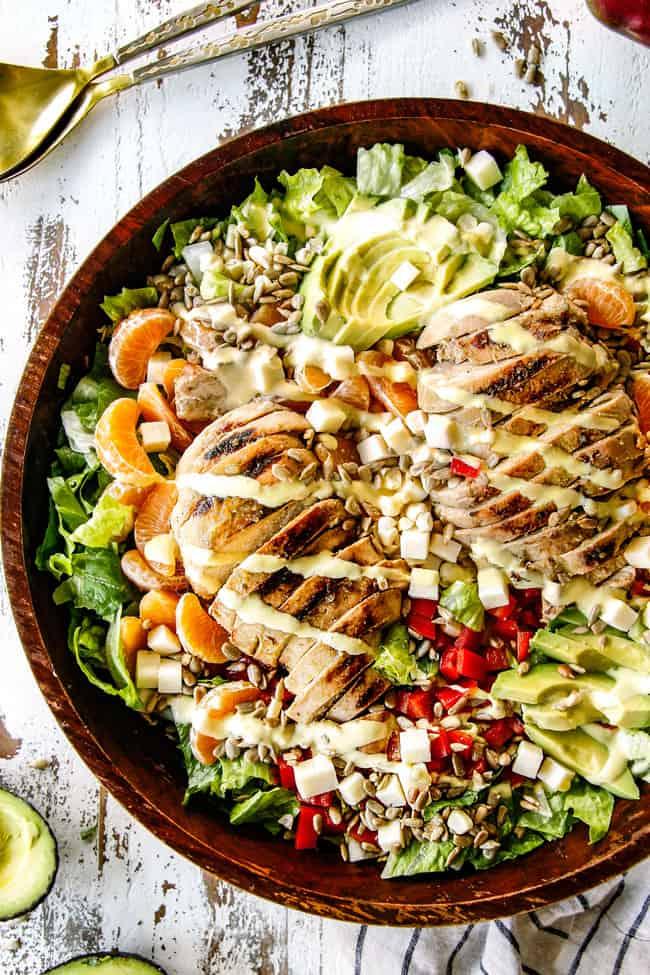 Salsa Verde Pepper Jack Chicken Salad With Mango Dressing Carlsbad