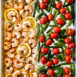 Shrimp Scampi (easy sheet pan!)